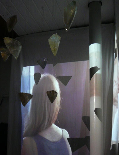 Transparency from a still, by Sonja van Kerkhoff + Sen McGlinn. Filmed by Carmen McGlinn